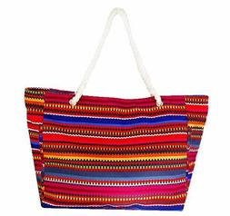 Women's Tote bag | Multiple Pockets | Baja Beach Bag| Carry