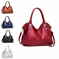 Women's Tote Leather Shoulder Bag Handbag Messenger Crossbod