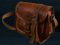Women Shoulder Leather Handbag Bag Purse Messenger Tote Satc