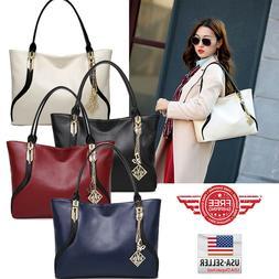 Women Tote Bag Leather Handbag Shoulder Purse Messenger Cros