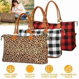 Women Travel Duffle Bag Luggage Tote Bags Weekend Overnight