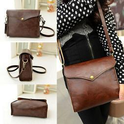 Womens Large Leather Handbag Shoulder Bags Tote Purse Messen