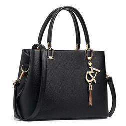 Black Womens Purses and Handbags Ladies Designer Top Handle