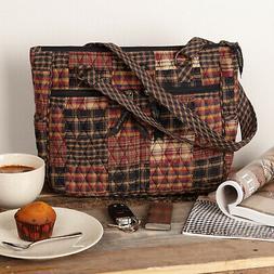 womens rustic canvas tote bag handbag messenger