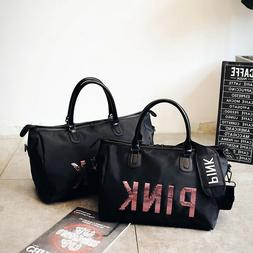 Womens Sport Gym Bags Shoulder Tote Fitness Training Handbag
