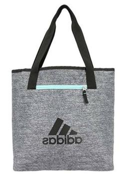 Adidas Womens Studio II Tote Bag ,Reversible,Onix Jersey/Bla