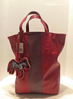 Saks Fifth Avenue Womens Top Handle Tote Bag Purse Handbag R