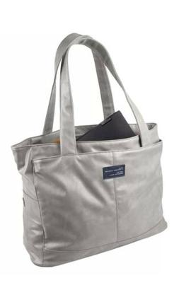 Womens Tote Bag Kenneth Cole Reaction Nylon Top Zip 16-inch