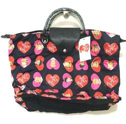 I Love Lucy XXL Overnight Weekender Tote Bag Nwt