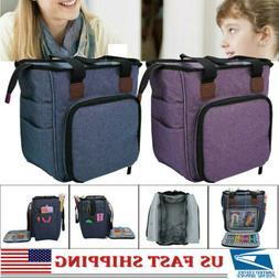 Yarn Storage Bag Large Capacity Knitting Crochet Tool Tote O