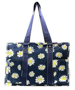 Zip Utility Tote Organizer w/pockets purse bag NWT NGIL FREE