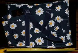 Zip Utility Tote Organizer w/pockets purse bag NWT NGIL Dais